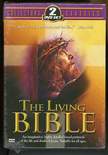 The Living Bible 2 DVD Set Collector's Classics Life & Death of Jesus Portrayal