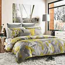 KENNETH COLE REACTION HOME SWIRL 5PC, 1 FULL QUEEN DUVET COVER 2 STANDARD 2 EURO