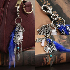 Dream Catcher Feather Handbag Charm Pendant Keychain Bag Keyring Key Chain Gift