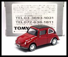 TOMICA LIMITED TL BEST Subaru 360 1/50 TOMY DIECAST 21 RED ( PRINT NOT GOOD )