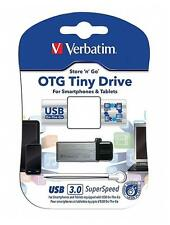 Verbatim 64GB OTG Tiny Micro USB 3.0 Pen Flash Drive Android Smartphone Tablet