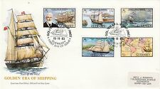 (43377) GB Jersey FDC Golden Era of Shipping 15 November 1983