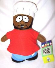 "Chef without apron 10"" South Park Plush Doll Soft Stuffed Toy Figure Nanco-New!"