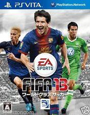Used PS Vita FIFA 13: World Class Soccer  SONY PLAYSTATION JAPANESE IMPORT