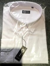 Men's white shirt (3XL) long sleeve RRP £29.99 work wedding casual oxford xxxl