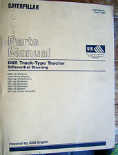 Caterpillar CAT D6R LGP Track-Type Tractor Parts Manual  8TM  SEBP2634-02   #691