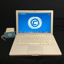 "Apple MacBook 13.3"" White Laptop Computer 2.1GHz, 4GB Ram, 120GB HD SALE!"