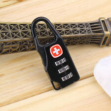Alloy Cross Combination Lock Code Number for Luggage Bag Drawer Cabinet CF