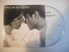TEXAS : WHEN WE ARE TOGETHER [ CD SINGLE PORT GRATUIT ]