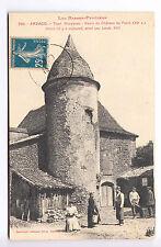 CPA  ARZACQ 64 - TOUR ROUSTICOU CHATEAU PETCH AGRICULTURE FERME 1920 ~A59
