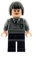 LEGO Harry Potter Minifig Pansy Parkinson Slytherin Student Unform NEW