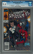 The Amazing Spider-Man #330 (NM+) CGC 9.6 White pages Erik Larsen - Punisher