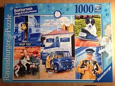 1000 PIECE JIGSAW PUZZLE RAVENSBURGER BATTERSEA DOGS & CATS HOME