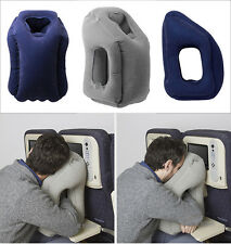 2017 New Inflatable Air Cushion Neck Comfortable Support Pillow Travel Pillow