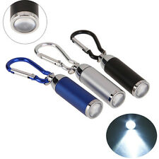 Portable Bright LED Camping Flashlight Mini Torch Lamp Light Keychain Keyring