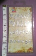 NEW Die Cutter Lowercase Small Alphabet Letter Thinlets Big Shot Grand Calibur