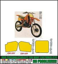 kit adesivi stickers compatibili  wmx 500 1984