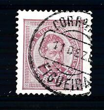 PORTUGAL - PORTOGALLO - 1882/87 - Effigie di Re Luigi I°. Riquadri diversi - 25
