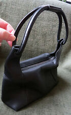 AUTHENTIC GUCCI BAG SHOULDER BAG BLACK  LEATHER