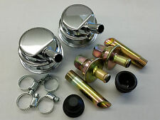 New Chrome Crankcase Evacuation System Complete Kit NHRA IHRA Hot Rod Rat Rod V8