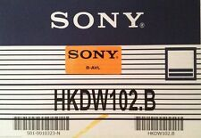 Sony HKDW-102 SDTI Interface Board for HDW-2000 series VTRs