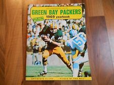 Old Vintage 1969 Yearbook Green Bay Packers 50th Anniversary Salute Magazine NFL