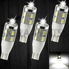 4X Super White T15/T10 Projector Lens Back up Reverse Light LED bulb 921 912 906
