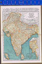 INDIA - 1932 Map