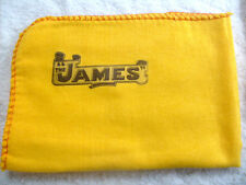 JAMES CLASSIC MOTORCYCLE: NEW LARGE HI-QUALITY CLEANING DUSTER CLOTH WITH LOGO.