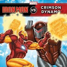 The Invincible Iron Man vs. Crimson Dynamo-ExLibrary