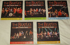 The Beatles - live tribute band Rare promo cardboards 5CDs Lot completed set