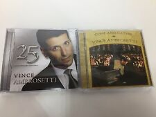 Vince Ambrosetti 2 CD Lot Come And Gather 25 Anniversary Edition Music VG