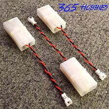 QTY-(3) Female Tamiya Charger to Female MSR/Pico E-Flite Adapter Celectra LiPo
