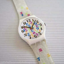 NUMBERS EVERYWHERE! Colorful NUMBERS Swatch! NIB-RARE!