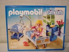 Playmobil City Life 6660 Stanza di ospedale mit Culla/lettino