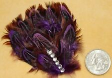 Steam Punk Feather Flower Gothic Emo TRIBAL Belly Dance Dancing Hair CLIP PIN