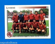 CALCIATORI PANINI 1997-98 Figurina-Sticker n. 615 - LIVORNO -New