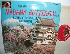 ASD 609 Puccini Madame Butterfly H/lights Victoria De Los Angeles Jussi Bjorling