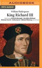 King Richard III (Naxos) by William Shakespeare (2016, MP3 CD, Unabridged)