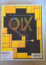 QIX For Commodore 64/128, NEW FACTORY SEALED, Tatio