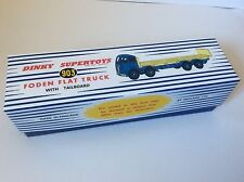 DINKY Reproduction Box 903 Foden Flat Truck with Tailboard High Quality Repro B