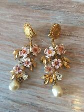 Dolce and Gabbana Runway Earrings NWT