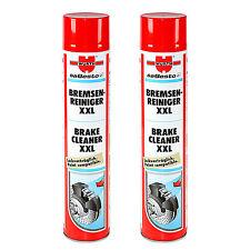 EMBRAGUE de freno de coche moto Genuino Wurth limpiador Spray de aerosol - 2 X 750ml