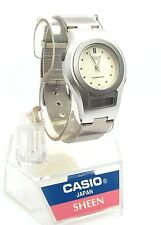 Casio Ladies Sheen Timepiece, Analog Digital Combination Watch, SHN-100-02