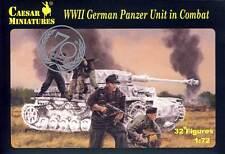 Caesar Deutsche Panzerbesatzung Einsatz German Panzer Tank Unit in Combat 1:72
