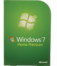LICENZA/LICENSE MICROSOFT WINDOWS 7 Home Premium ~ 1 license = 5 computers