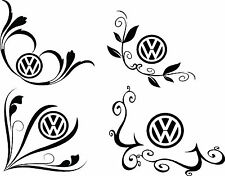 VW Transporter T4, T5, Golf, Bettle, vinyl window decal sticker
