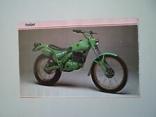- RITAGLIO DI GIORNALE ANNO 1982 - MOTO ITALJET 350 T TRIAL