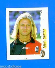 FUSSBALL BUNDESLIGA 1996-97 Figurina Sticker n. 93 - SUTTER - FREIBURG -New