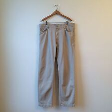 Harmont & Blaine Lt Tan Cotton Khakis Chinos Pantalones Sz 56 EUC Made in Italy